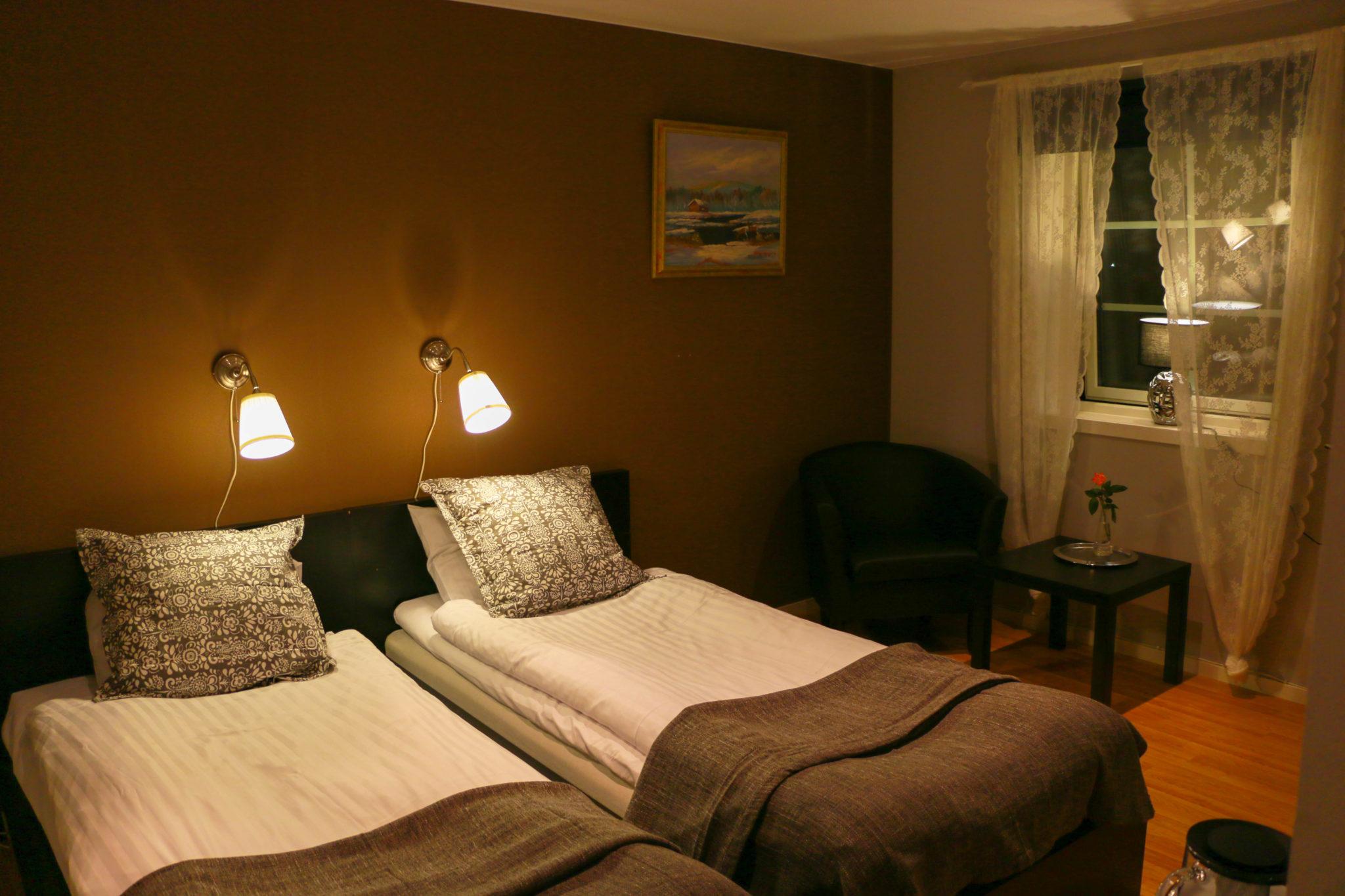 Hotell Hedåsen Twin Rum Två Sängar